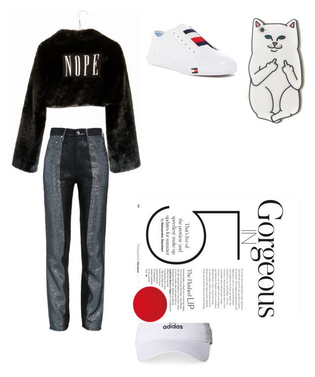 """Gorgeous 5"" by firliourellonica on Polyvore featuring Wet Seal, Tommy Hilfiger, RIPNDIP and adidas"