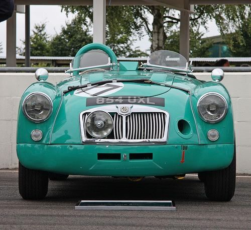 MGA Replica Works Racer this car was built and prepared in the UK to race on US tracks