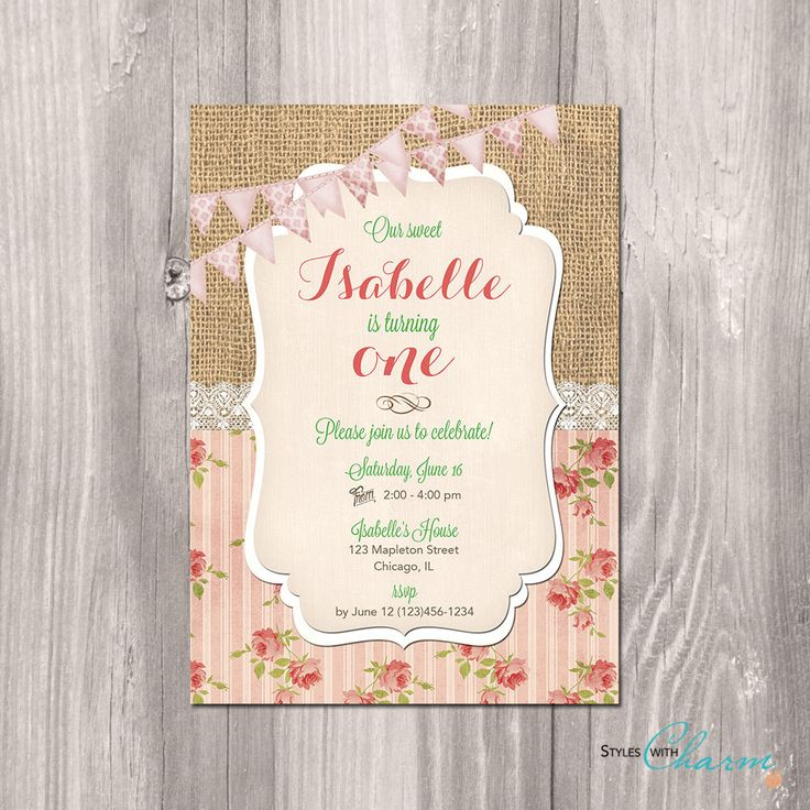 Diy First Birthday Invitations is perfect invitation layout