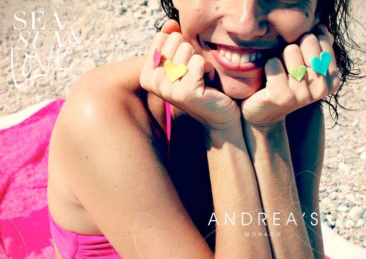 #summer #sun #love #colors #jewelry #rings #andreas #monaco