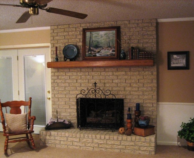 7 best Brick fireplace images on Pinterest | Fireplace ideas ...