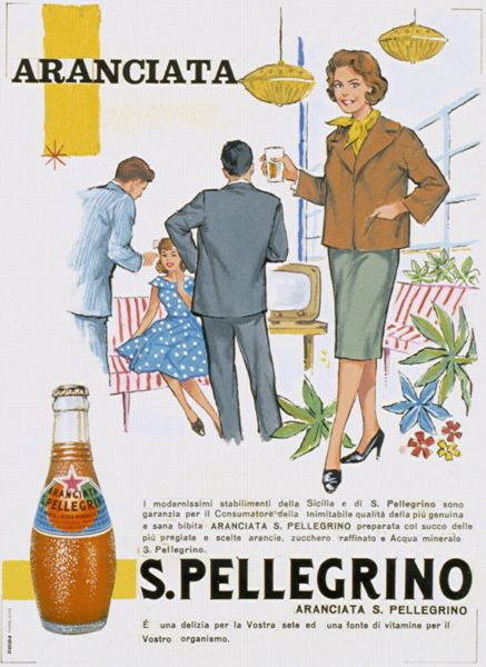 Aranciata: good for every occasion, a vintage and contemporary classic! #sanpellegrinofruitbeverages #aranciata #retro