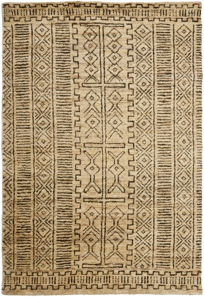 Tribal Pattern Inspired By African Safaris And Authentic Kuba Cloth Adds Texture History To
