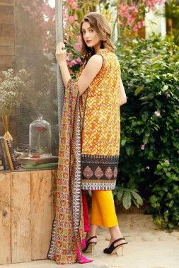 Alkaram Lawn 2017 Collection for women