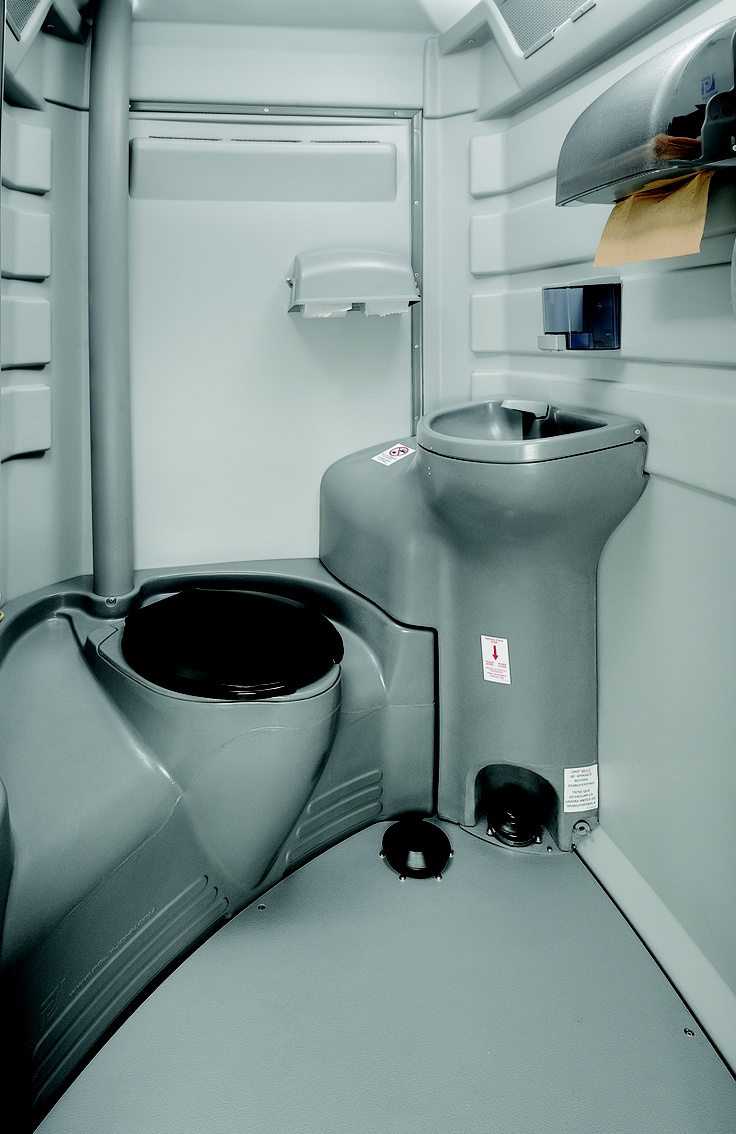 27 best portable restrooms images on pinterest bathrooms for Deluxe portable bathrooms