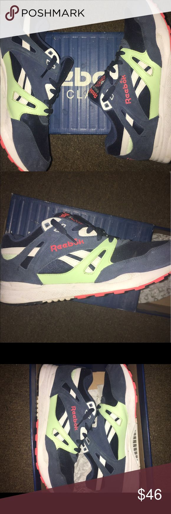 REEBOK VENTILATOR Reebok Ventilator, worn a couple times still in great condition, great for the spring/summer weather, great comfortable sneaker perfect for walking, running and being stylish. Comes in original box Reebok Shoes Sneakers