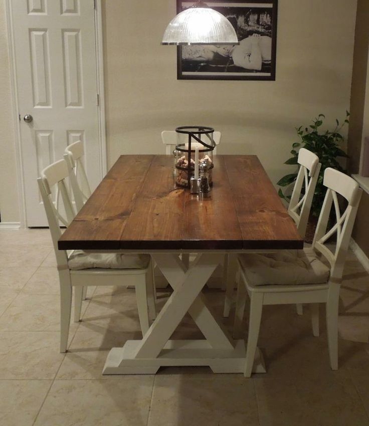 Sold Wood Handcrafted Farmhouse Trestle Table. If You Would Like To View  This And Many More Please Visit Montanatable.com Or Contact Peter Eldridgeu2026