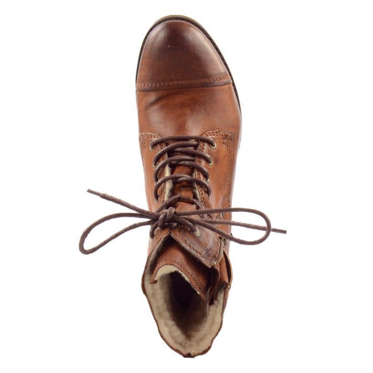 Combat Boots braun