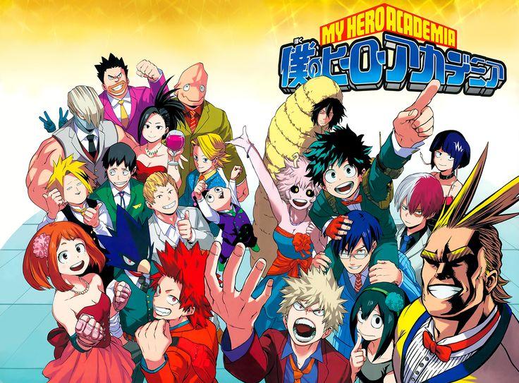Boku no Hero Academia Chapter 052