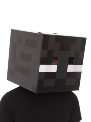 Minecraft Cardboard Enderman Head