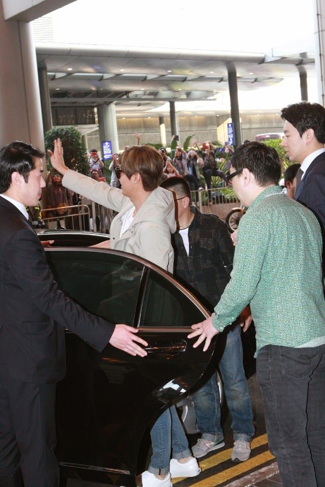 Arrival, Hong Kong International Airport - 21.03.2015
