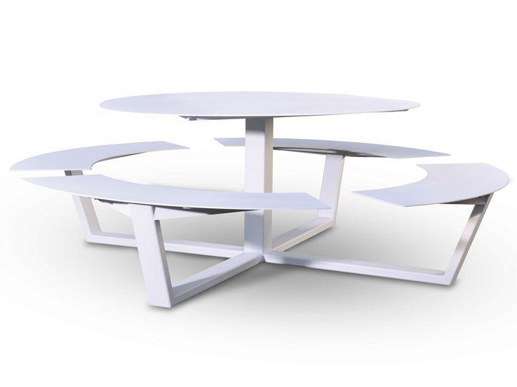 Picnic Tables, Picnic Benches And Garden Furniture   La Grande Ronde, Round  Design Picnic   Cassecroute
