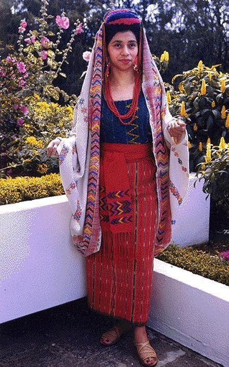 Traje Ceremonial Quiche Guatemala Pinterest