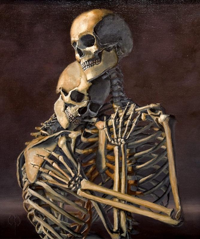.Lovers Art, Obey Streetart, Friends Art, Skeletons, Skeletal Beautiful, Skullskeleton Art, Skull Art, Chris Peter, Artists Fro