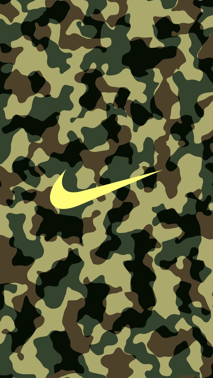 Nike Logo Camouflage Iphone Wallpaper Sayings And