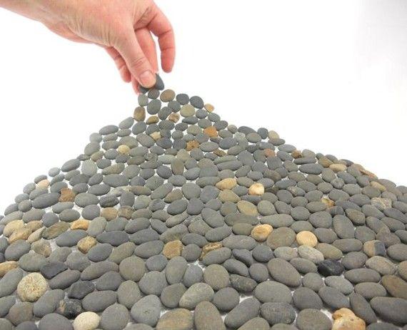 Miniature Stone Sheet Seaside Gray Mix Cut It Glue It Grout It