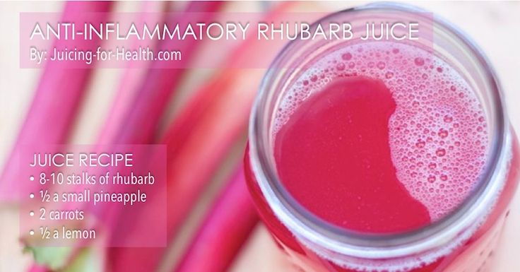 how to cook rhubarb healthy