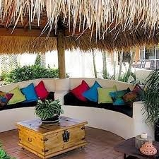 tropical bali huts - Google Search