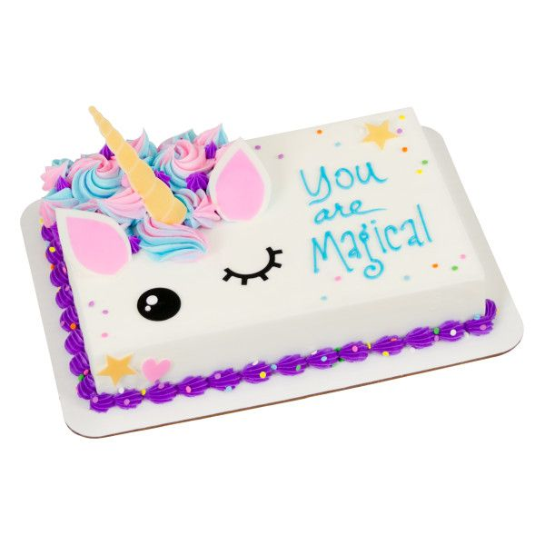 Adorable Unicorn Sweet Shapes Variety Fondant Unicorn Birthday