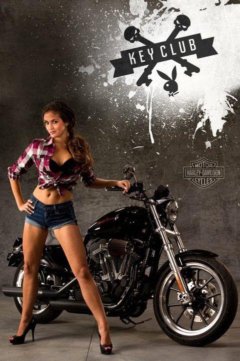 New Harley calendar girl and Playmate, Jaclyn Swedberg