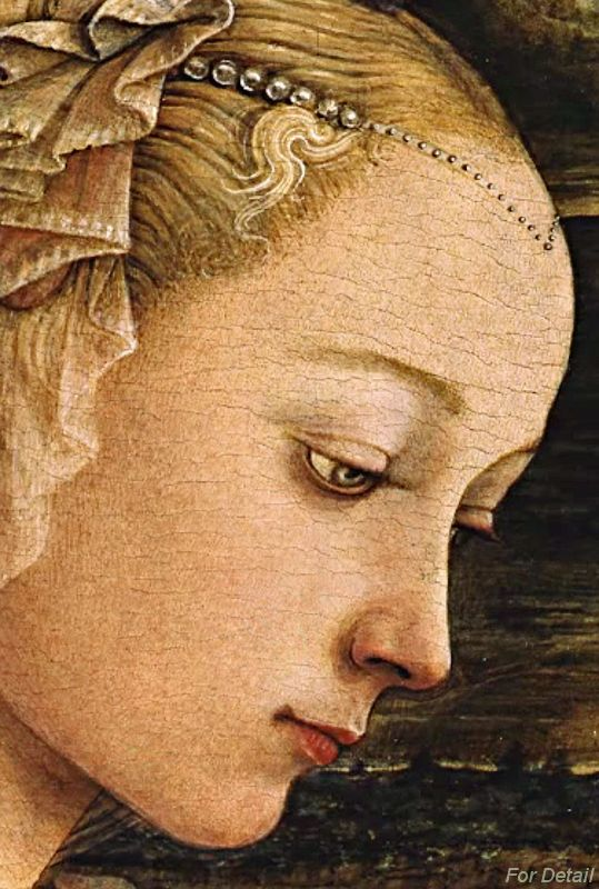 Fra Filippo Lippi, Madonna and Child with Two Angels ...