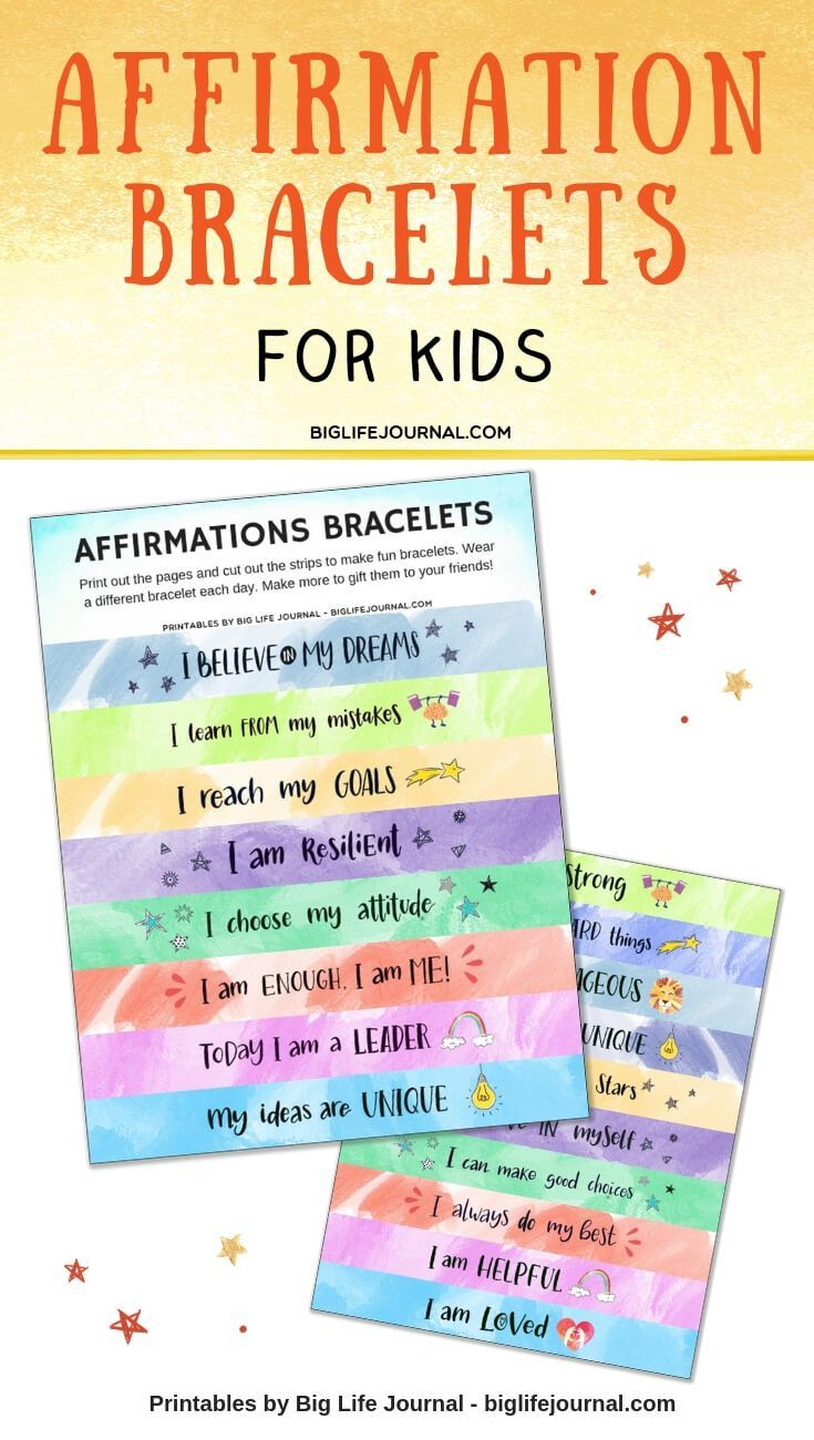 6c78a5e3 7 New (And Fun) Ways for Kids To Do Affirmations | Growth Mindset ...