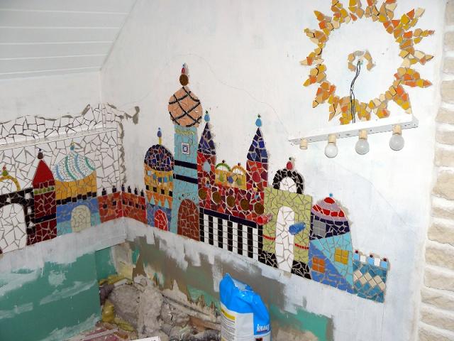 Bunte Nadel - Blog: Badezimmer Mosaik