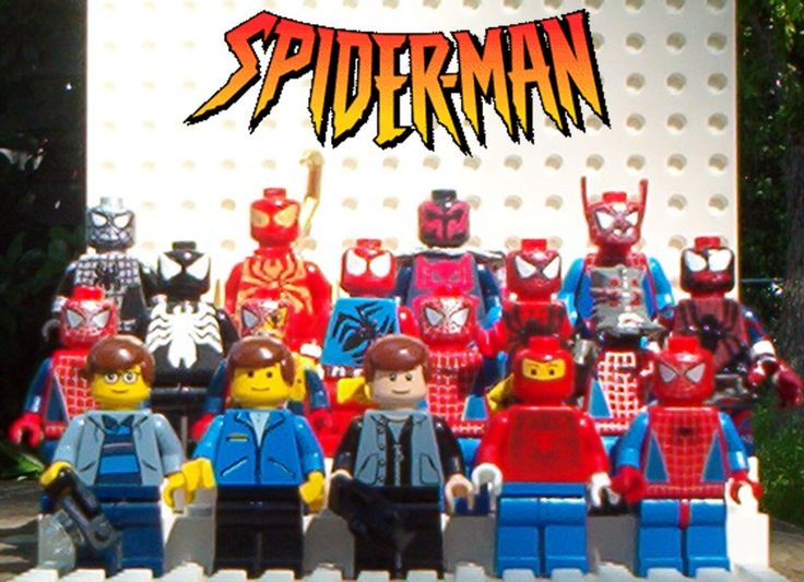 lego spiderman 2099 - photo #33