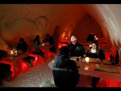 Hotel de nieve en Rovaniemi Laponia