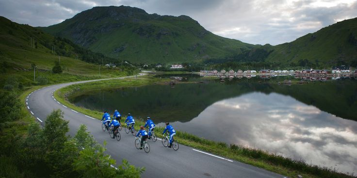 Lofoten Insomnia Cycling Race in Norway