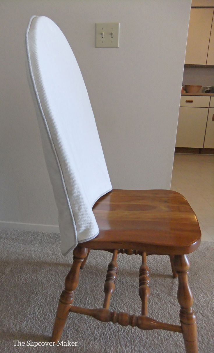 Slipcover Makeover For Windsor Dining Chairs Dining Room