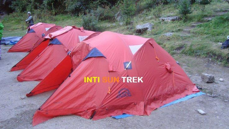 We have tents of first quality for the trek