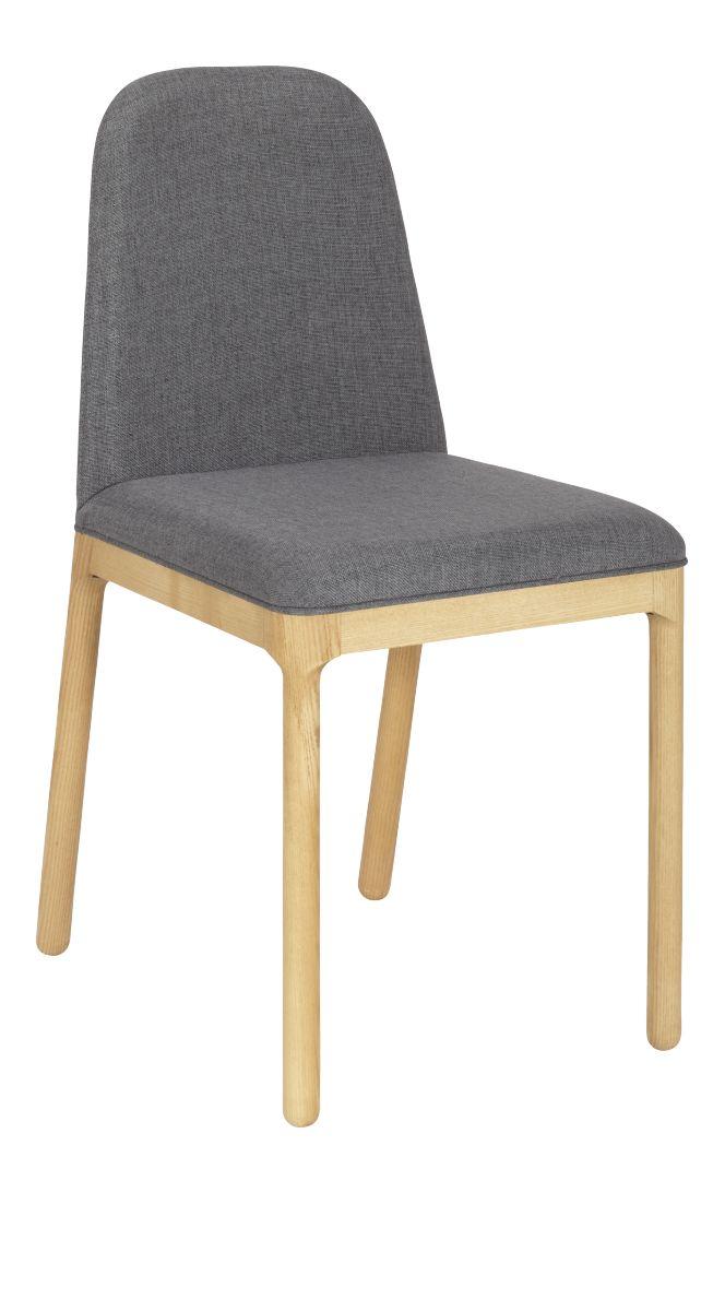Dette er en stol som bringer eleganse, komfort og varme til spisestuen. Avrundet heltre eikeben harmonerer med stoffvalget på setet. Enkel og moderne spisestuestol med god komfort men samtidig nett og plasseffektiv. Fåes enten i PU-skinn eller en megetslitesterk polyester.