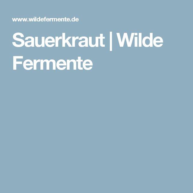 Sauerkraut | Wilde Fermente