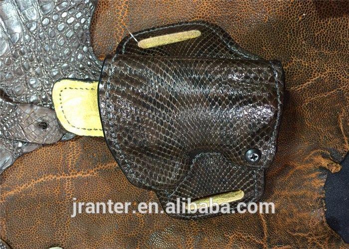 Ph7 Customize Python Leather Universal Gun Holster for 1911 -3inch RH