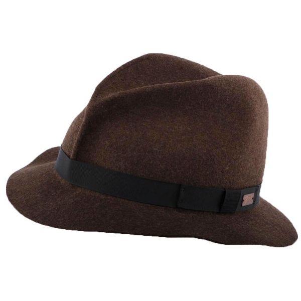 Chapeau Feutre Marron Dean Bailey Le style sur Hatshowroom.com en #chapeau #casquette #bonnet