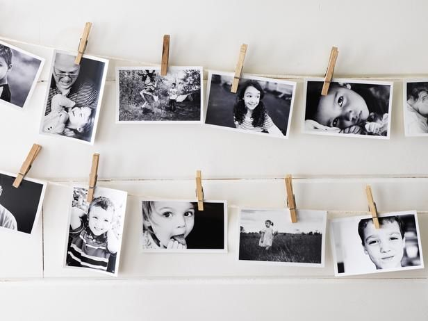 What a cool, crafty, and cost-effective way to display your favorite family photos #diy #hgtvmagazine http://www.hgtv.com/decorating-basics/the-abcs-of-diy-decorating/pictures/page-2.html?soc=pinterest