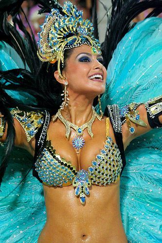 "Have you ever seen beauty in motion? Ever heard the sound of color and excitement? The Rio Carnival will be the reason you answer ""yes!"" #hotelinteriordesigns"