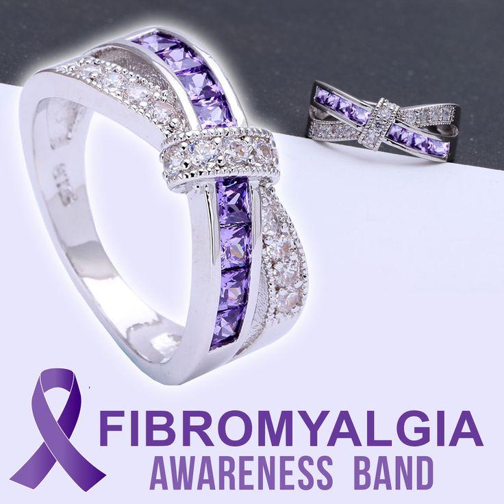 Fibromyalgia Awareness Band