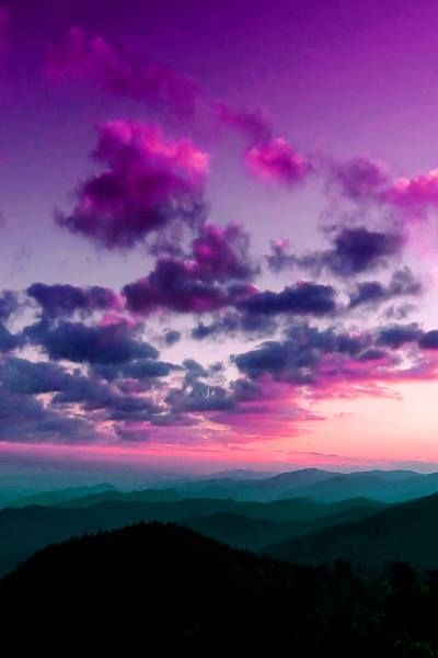 Magic colors of sunset