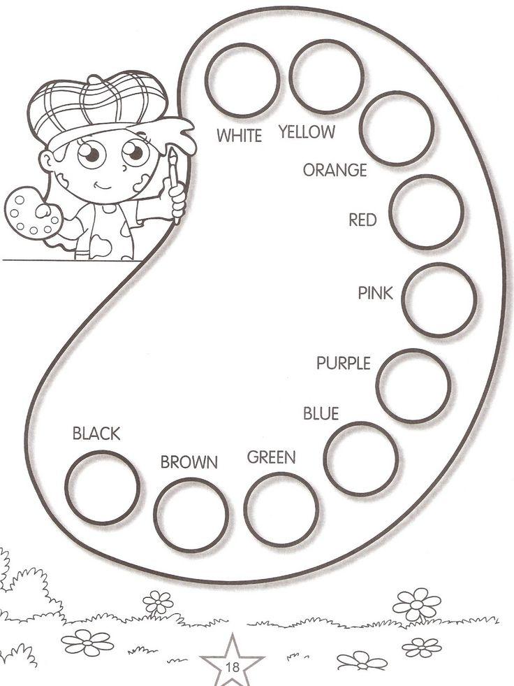Lujoso Libros Para Niños Sobre Colores Bosquejo - Páginas Para ...