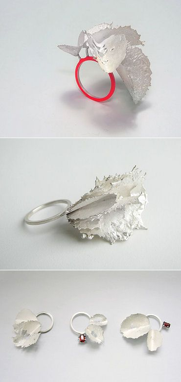 TheCarrotbox.com modern jewellery blog : obsessed with rings // feed your fingers!: Andra Lupu