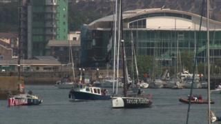 Yacht crews rescued after Atlantic storm