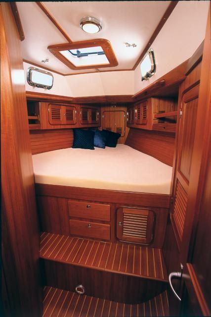 Passport 456ac V Berth Dreamy Cabins Pinterest Boating Boat Interior And Interiors