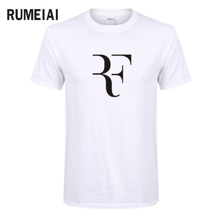 >> Click to Buy << RUMEIAI 2017 Fashion Federer RF T shirt Men Roger Federer T-shirt Cotton Short Sleeve Brand Clothing Hip Hop Swag T-Shirt #Affiliate
