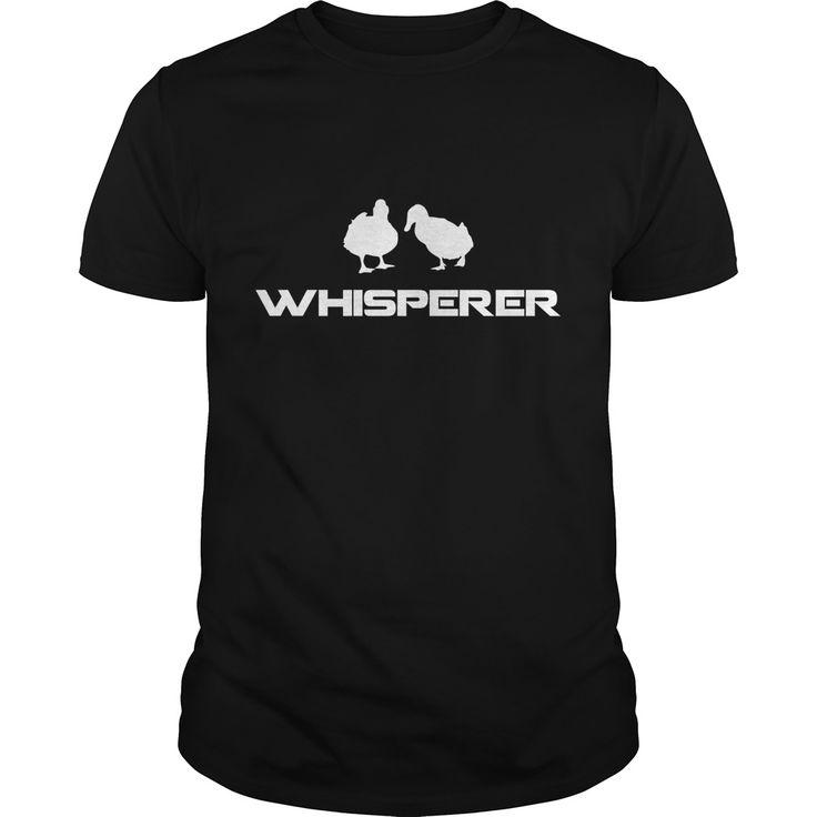 Duck Whisperer Cute Funny Farm Animal Best Gift : shirt quotesd, shirts with sayings, shirt diy, gift shirt ideas  #hoodie #ideas #image #photo #shirt #tshirt #sweatshirt #tee #gift #perfectgift #birthday #Christmas