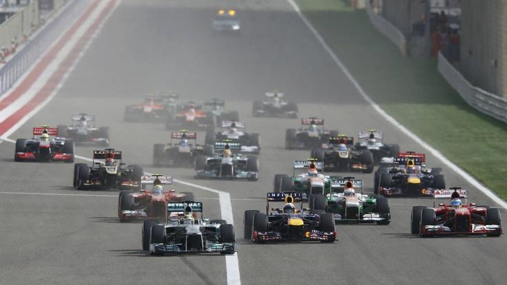 Las mejores imágenes del Gran Premio de Bahréin - Deportes - ABC.es