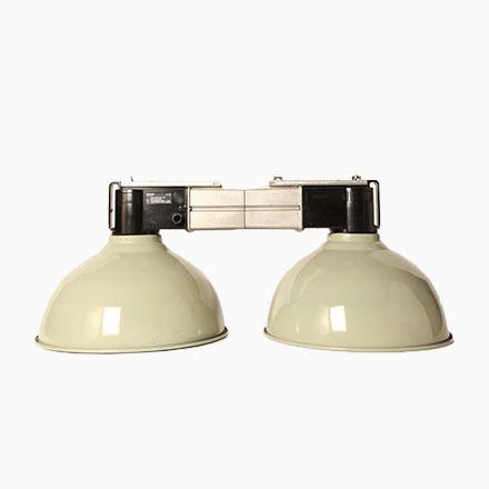Graue Vintage Lampe mit Zwei Leuchten von Philips Jetzt bestellen unter: https://moebel.ladendirekt.de/lampen/deckenleuchten/deckenlampen/?uid=26a3fdbb-b56e-5e44-8512-0da1bd4fc565&utm_source=pinterest&utm_medium=pin&utm_campaign=boards #deckenleuchten #lampen #deckenlampen