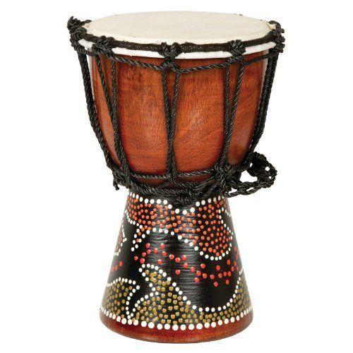 X8 Drums Mini Djembe Drum with Gecko Painted Design, http://www.amazon.com/dp/B00265Y8LO/ref=cm_sw_r_pi_awdm_haYbxbR8DRQNF