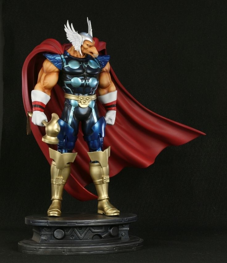 Beta Ray Bill statue  Sculpted by: Jason Smith (digital sculpture)    Release Date: February 2011  Edition Size: 1000  Order Of Release: Phase V (statue #226)